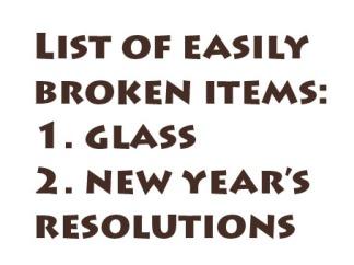List-of-Easily-Broken-Items
